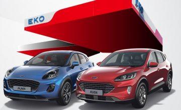 Спечелете тест драйв уикенд с Ford Kuga или Puma