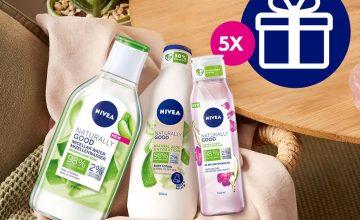Спечелете пет козметични комплекта с продукти Naturally Good от Nivea