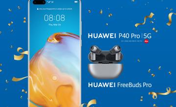 Спечелете смартфон HUAWEI P40 Pro и слушалки Huawei от Lidl