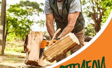 Спечелете брадва за цепене на дърва и горска брадвичка STIHL