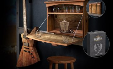 Спечелете електрическа китара, домашен бар и подаръчни кутии от Bushmills