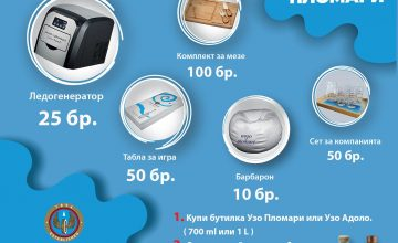 Спечелете ледогенератор, барбарони, табла за игра, комплекти за мезе от Ouzo of Plomari