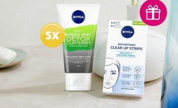 Спечелете 5 комплекта от Nivea за чиста и безупречна кожа