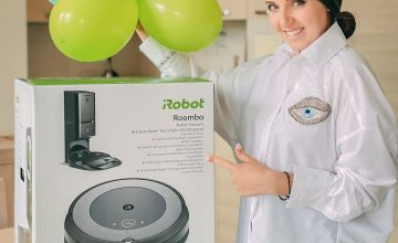 Спечелете прахосмукачка-робот Roomba i3+