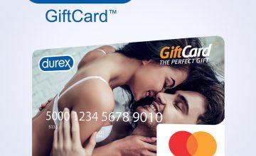 Спечелете 12 Gift Cards по 200 лв. от Durex