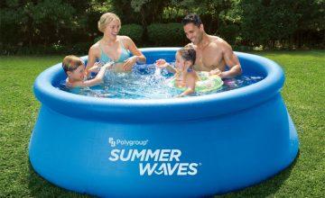 Спечелете надуваем басейн Summer waves