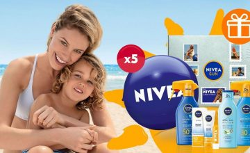 Спечелете 5 комплекта със слънцезащитни продукти NIVEA SUN