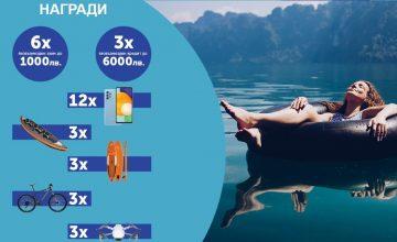 Спечелете безвъзмездни заеми и кредити до 6000 лв., смартфони Samsung, велосипеди, дронове и още