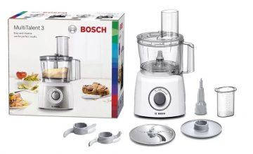 Спечелете кухненски робот Bosch, комплект съдове за готвене, тигани, комплект за торта и книги