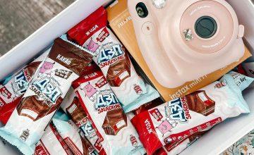 Спечелете фотоапарат за моментни снимки и кутия с десертчета ДЗП
