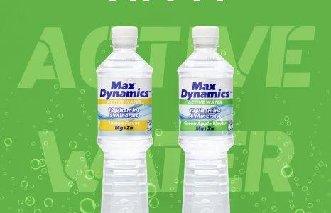 Спечелете стек активна вода Max Dynamics