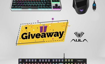 Спечелете геймърски награди AULA от Desktop.bg