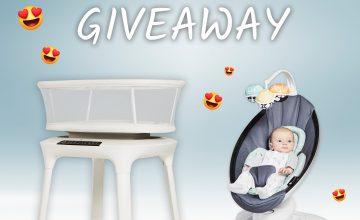 Спечелете бебешка люлка и бебешко кошче за сън 4moms mamaRoo