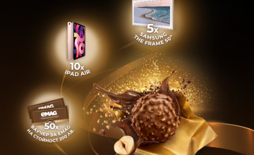 Спечелете смарт телевизори, таблети iPad и ваучери по 200 лв от Ferrero Rocher