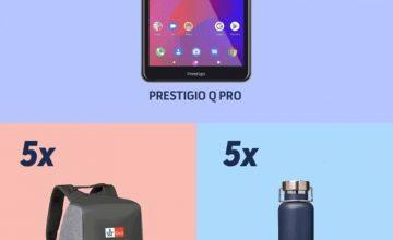 Спечелете таблет PRESTIGIO Q PRO, 5 раници и 5 бутилки Klett